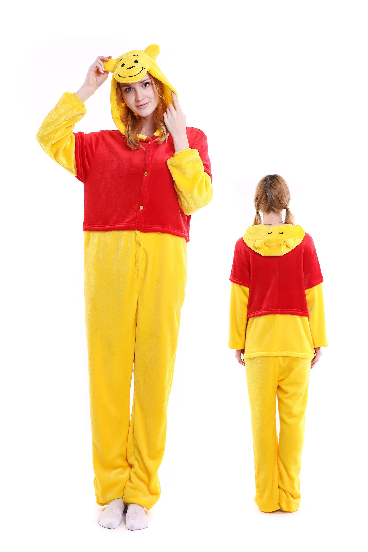 uk cheap sale amazon large discount Combinaison Pyjama Winnie l'ourson Animaux Déguisement ...